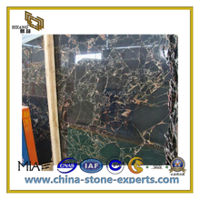 New Black Marble-Golden Marquina Slab (YQC)