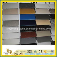 Color Matching Artificial Quartz for Countertop Project