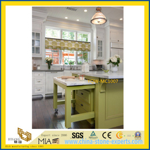 High Quality Cheap White Marble Stone Countertop for Kitchen / Hotel