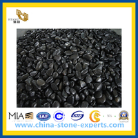 Black Pebble&Cobble Stone for Graden and Landscape (YQG-CS1013)