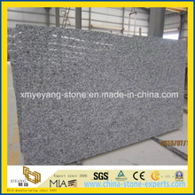 Precut Spray White / Sea Wave White Granite Slab