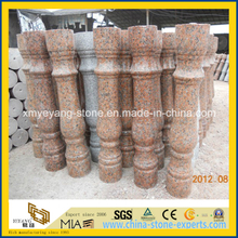 G562 Maple Red Granite Polished Balustrade for Landscape Design