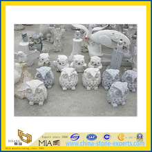 Grey Granite Stone Animal Status/ Sculpture / Carving(YQG-LS1029)