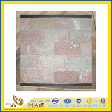 Red Mushroom / Culture Quartz Stone for Wall Cladding (YQA-S1054)