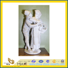 White Marble Stone Statue Carving for Manor Garden(YQG-LS1016)