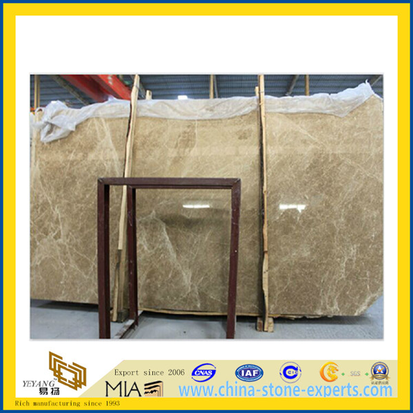 Light Emperador Marble Slab for Floor and Countertop