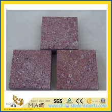 China Natural Red Porphyry Kerbstone Paving Stone for Flooring