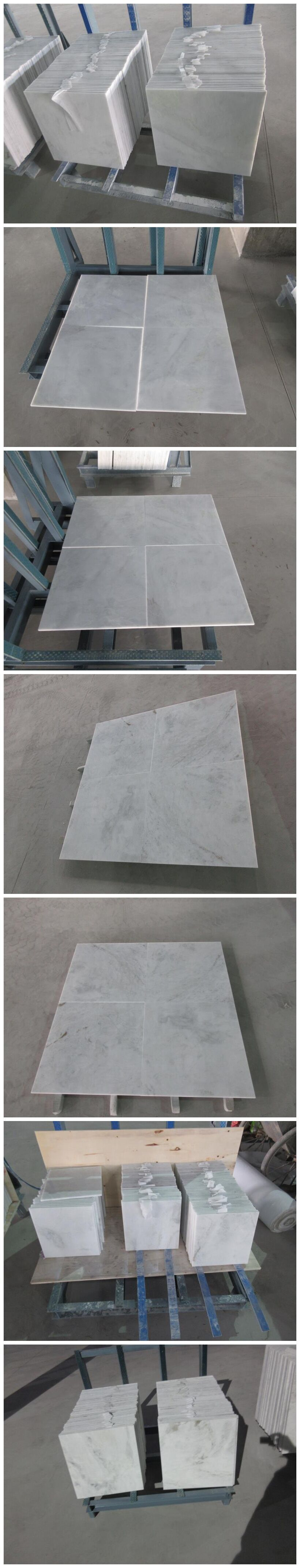 Castro white marble slabs and tiles. B