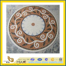 Marble Mosaic Waterjet Medllion for Indoor Decoration