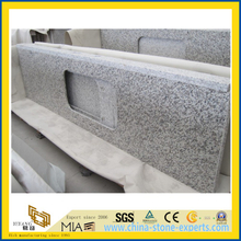 Polished Tiger Skin White Granite Vanity Top / Kitchen Countertop (YQW-GC10114)