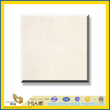 Polished Crema Bello Limestone Marble Slabs for Wall&Flooring (YQC)