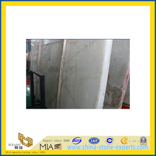 Polished Natural White Onyx Marble Slabs for Countertop/Vanitytop (YQC)