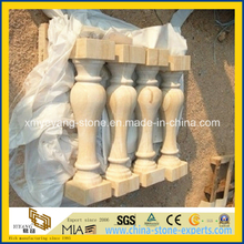 Natural Yellow Sandstone Balustrade for Landscaping Project