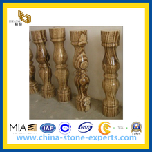 Golden Marble Railing Balustrade Handrail (YQW-MH21012)