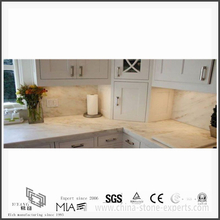 Inexpensive New Arrival Arabescato Venato White Marble Countertops for Kitchen (YQW-MSA051307)