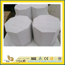 High Quality White Sandstone for Pedestal /Landscape