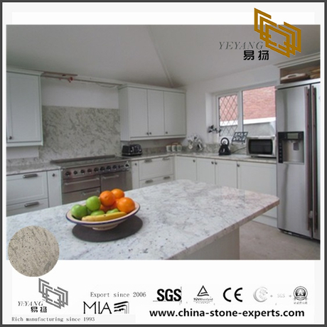 Beautiful Fancy Andromeda White Granite Counter tops for Bathroom Decor (YQW-GC0714018)