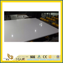 Jazz White Quartz Stone for Indoor Decoration