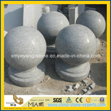 Natrual Granite Stone Ball / Car Stop Stone for Driveway