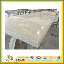 Quality Quartz Countertop -Seam Invisible for Laminated Tops(YQC)