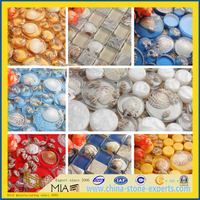 Crystal Glass Mosaic for Wall, Swimming Pool, Tile(YQT)