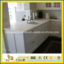 Calacatta White Marble Kitchen Top / Island Top