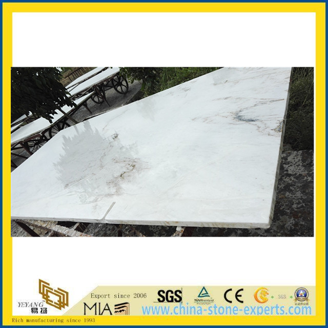 Natural Castro White Marble for Slab, Tile, Sculpture