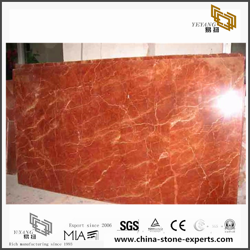 Rojo Alicante Marble for Wall Backgrounds & Floor Tiles(YQN-092308)