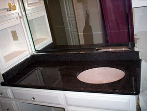 Cafe Imperial Vanity Top Project -YEYANG STONE FACTORY