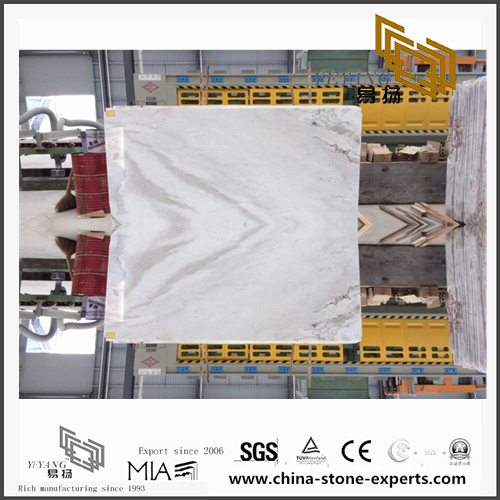 New Castro White Marble for Stone Works (YQN-110302)
