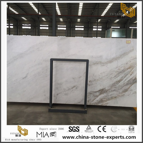 Exclusive China Carrara White Marble Slab for Wall & Floor