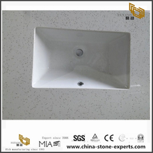 Caesarstone Ice Snow Quartz Countertop Vanity for Kitchen and Bathroom top