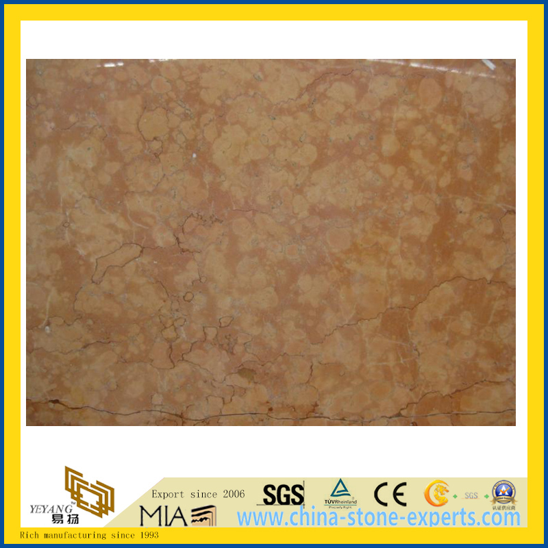 Chinese Rosso Verona Marble Slabs for Countertop/Vanity Top/Flooring