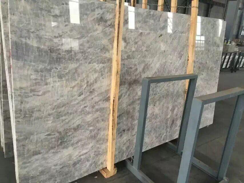Vemont Grey marble slab