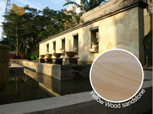 Yellow Wood Sandstone Exterior Cladding