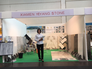 2016.9 Italy marmomacc YEYANG booth HALL 8 Stand B1-1