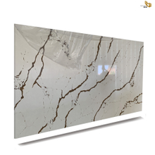 Factory Supply gold vein quartz Cabinet Tops for sale