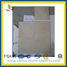 Beige Marble Crema Marfil for Flooring & Wall Tiles(YQC)