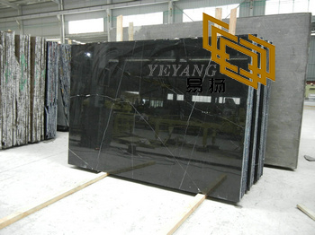 Black marble for decoration background(YQN-082502)