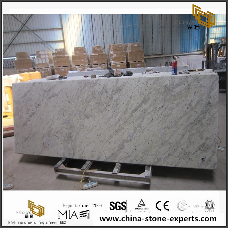 Genial Andromeda White Prefab Granite Countertops Slabs