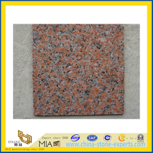 Flamed Maple Red Granite Tile for Outdoor Flooring