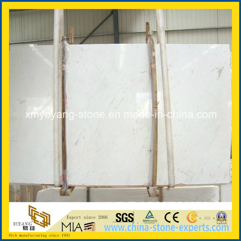 Greece Ariston White Marble Slab for Wall or Flooring Decoration
