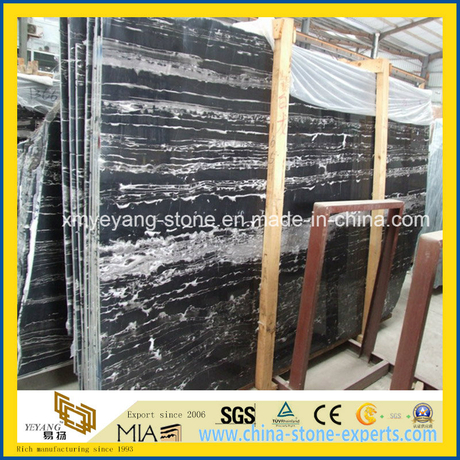 Chinese Silver Dragon Marble Slab for Walling or Flooring