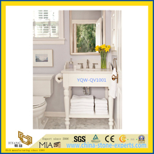 Beige Marble Bathroom Vanity Tops for Home, Hotel