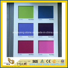 Colorful Artificial Quartz Solid Surface for Countertop or Vanitytop