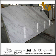 Custom Volakas White Marble for Wall Backgrounds & Floor Tiles (YQN-092906)
