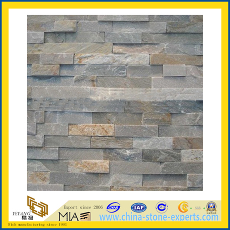 Cheap Price Natural Slate Veneer Culture Stone for Wall Cladding (YQA-S1010)