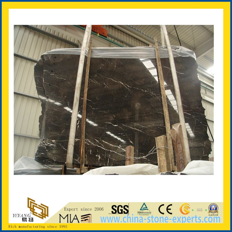 Chinese St. Laurent Marble Slab for Flooring Decoration
