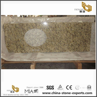New Venetian Gold Yellow Granite Bathroom Vanity tops