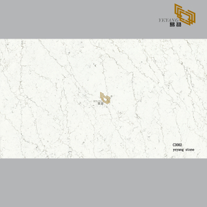 Beige quartz slabs for kitchen vanitytops and bathroom countertops(C3002)